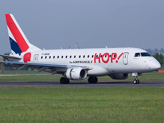 HOP! Air France ouvre à la vente ses vols saisonniers vers la Corse pour l'été 2018