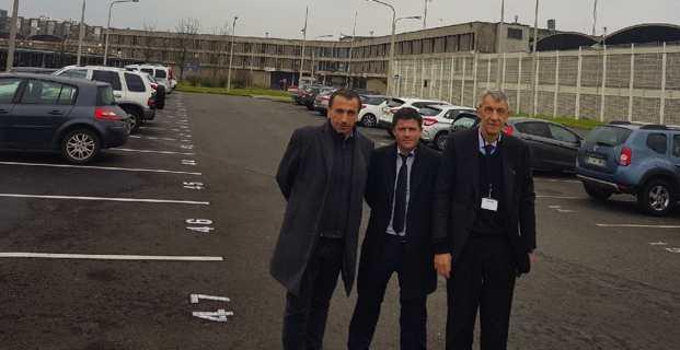 Les trois députés Pè a Corsica : Paul-André Colombani, Jean-Félix Acquaviva et Michel Castellani.