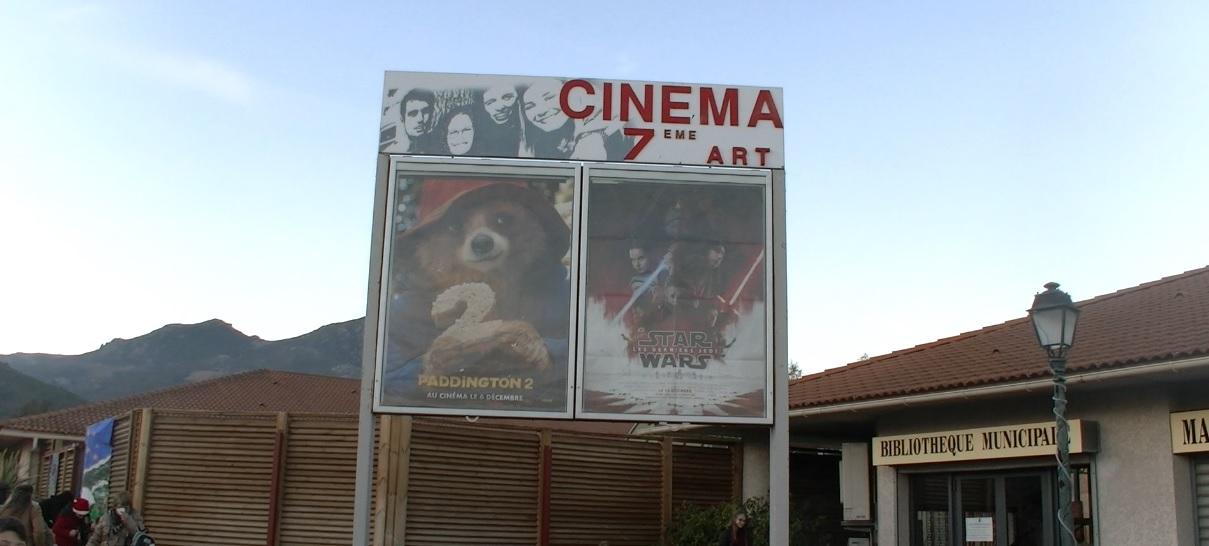 Furiani : Un nouvel écran géant pour la salle de cinéma