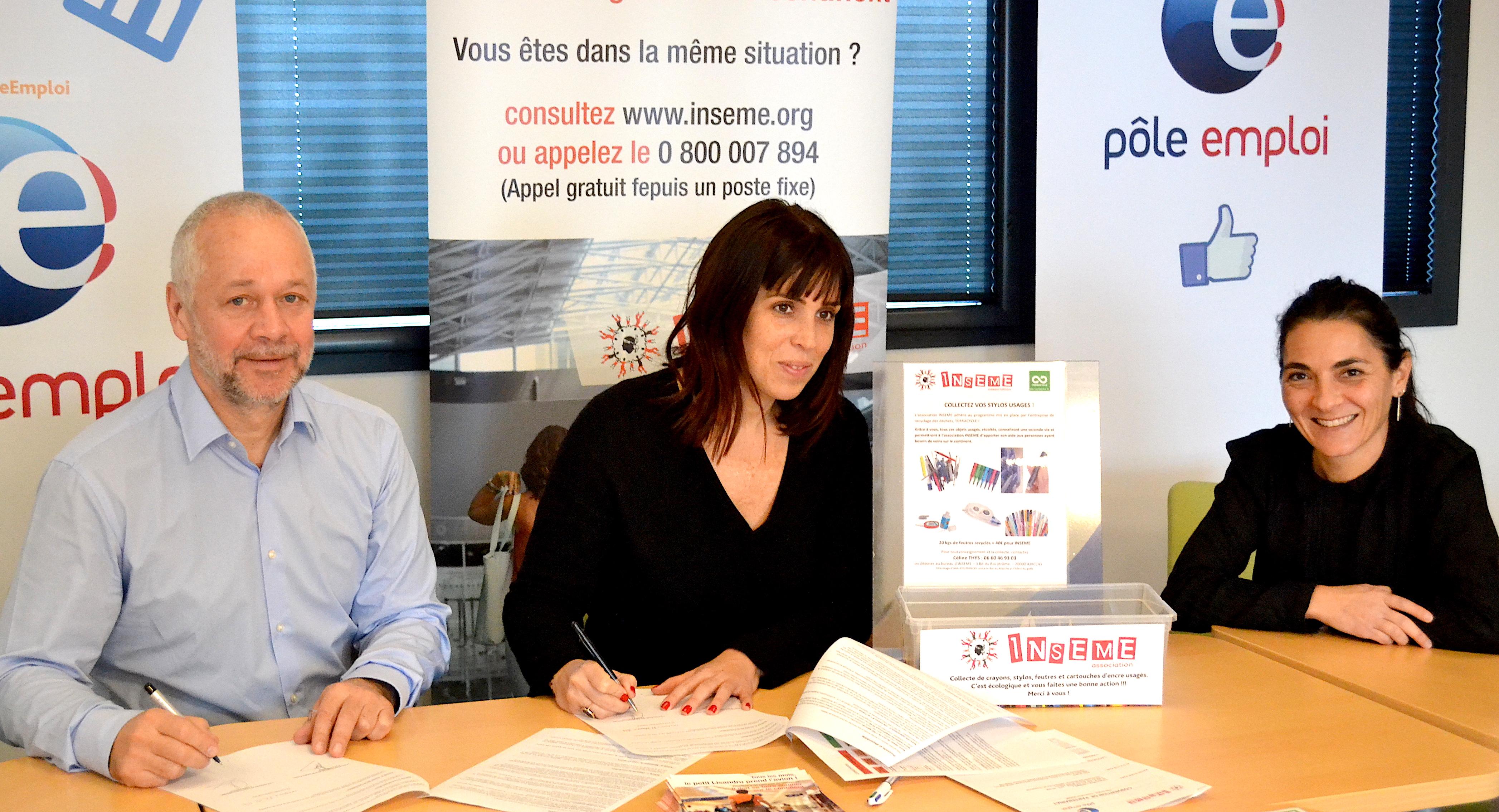 Pôle Emploi rejoint l'association Inseme : La mobilisation est de mise