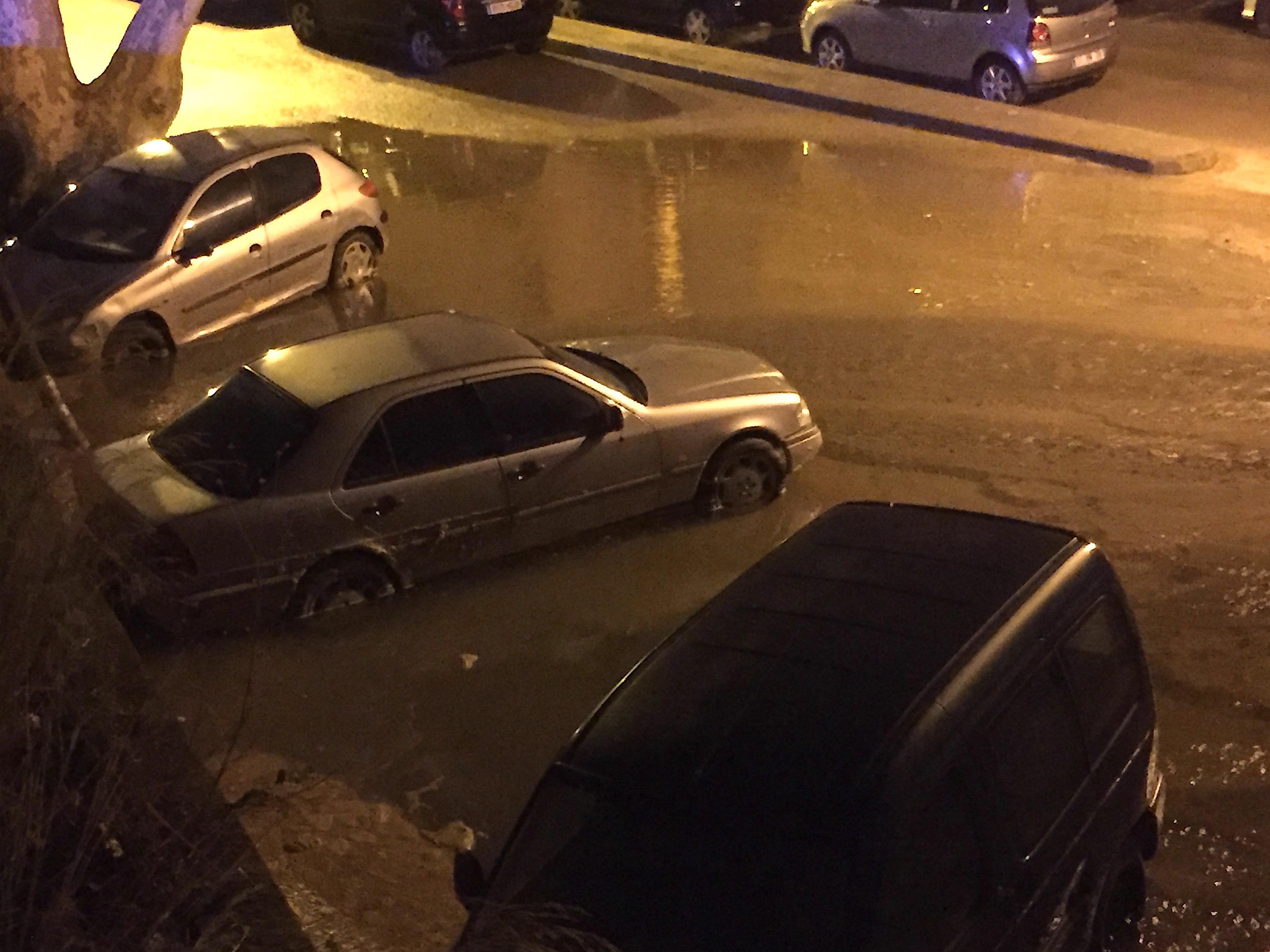 Bastia : Une canalisation d'eau cède à Saint-Joseph