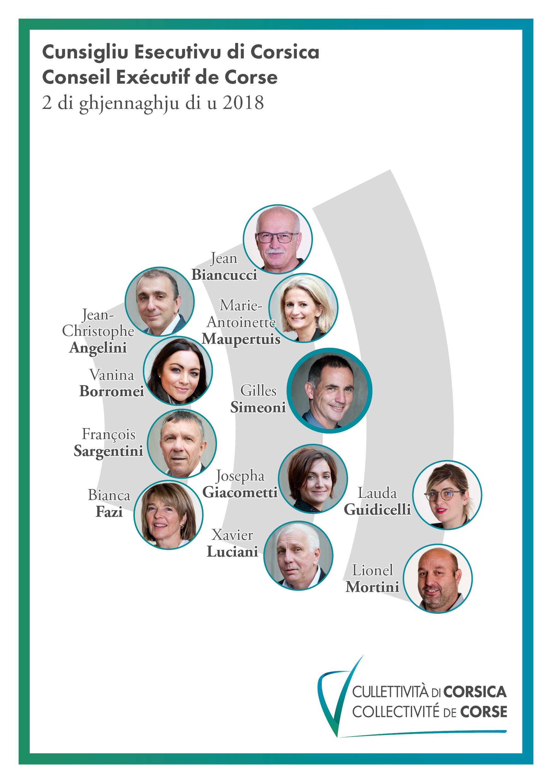 Collectivité unie : Gilles Simeoni élu président d'un Conseil exécutif rafraichi !