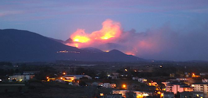500 hectares détruits à Sant'André di U Cotone