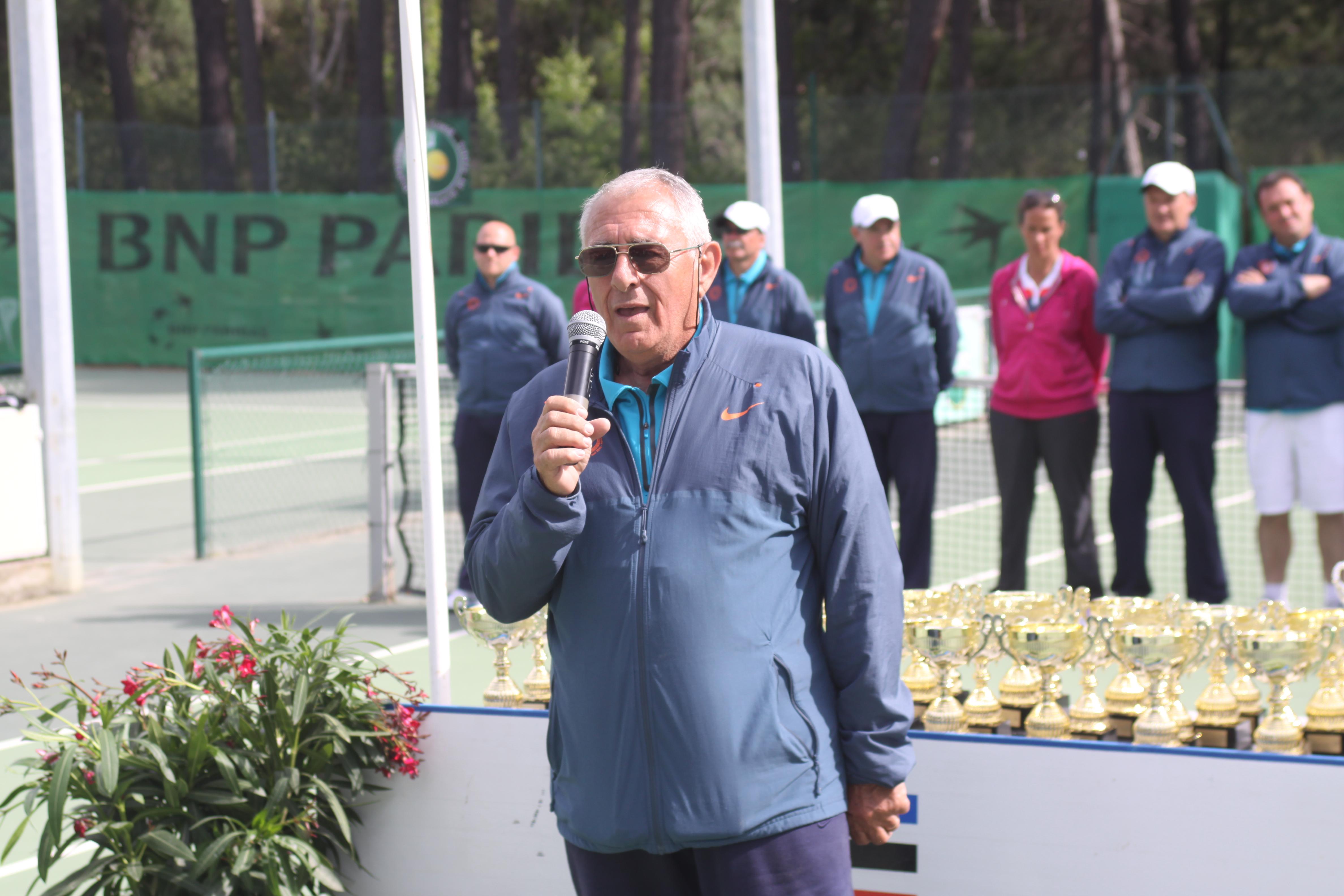 Albert Ghione, secrétaire général de la Ligue Corse de tennis nous a quittés
