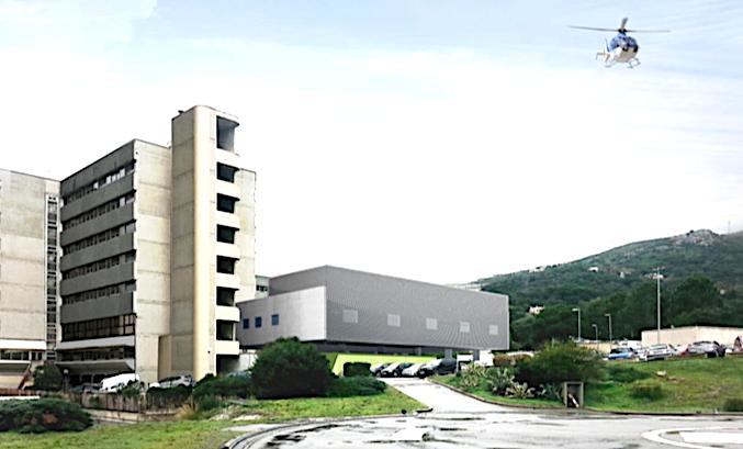 Extension et de modernisation du bloc opératoire du Centre Hospitalier de Bastia