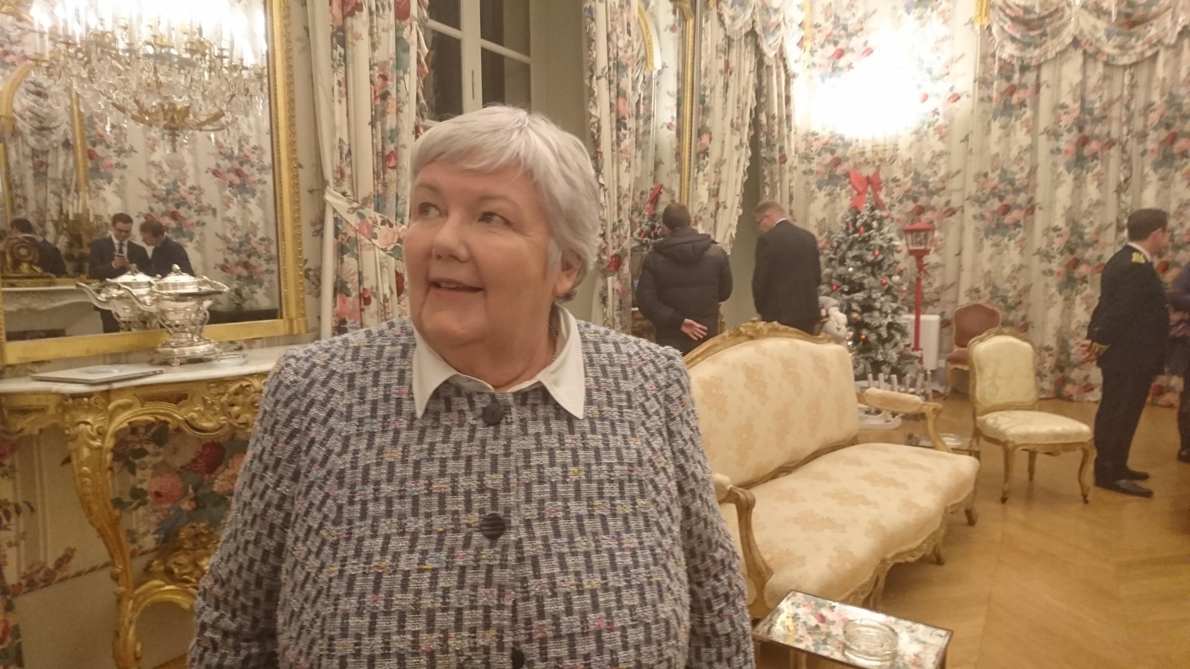 Jacqueline Gourault, ministre auprès du ministre de l'Intérieur, a rencontré les acteurs de la vie publique corse ce vendredi à Ajaccio.