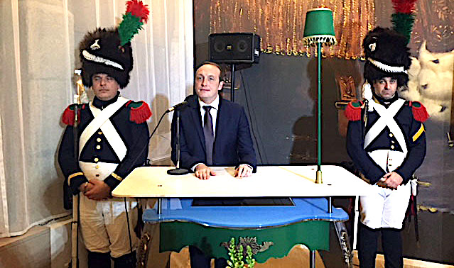 Ancien résistant et guide officiel de la ville d'Ajaccio : Jean Schiavo honoré