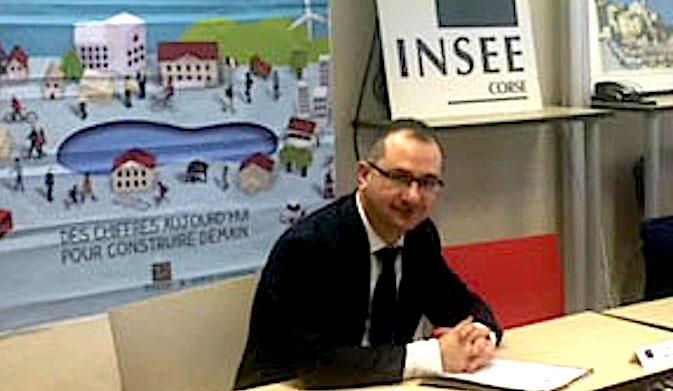Nouveau directeur régional de l'INSEE, Olivier Lena est passionné par les chiffres
