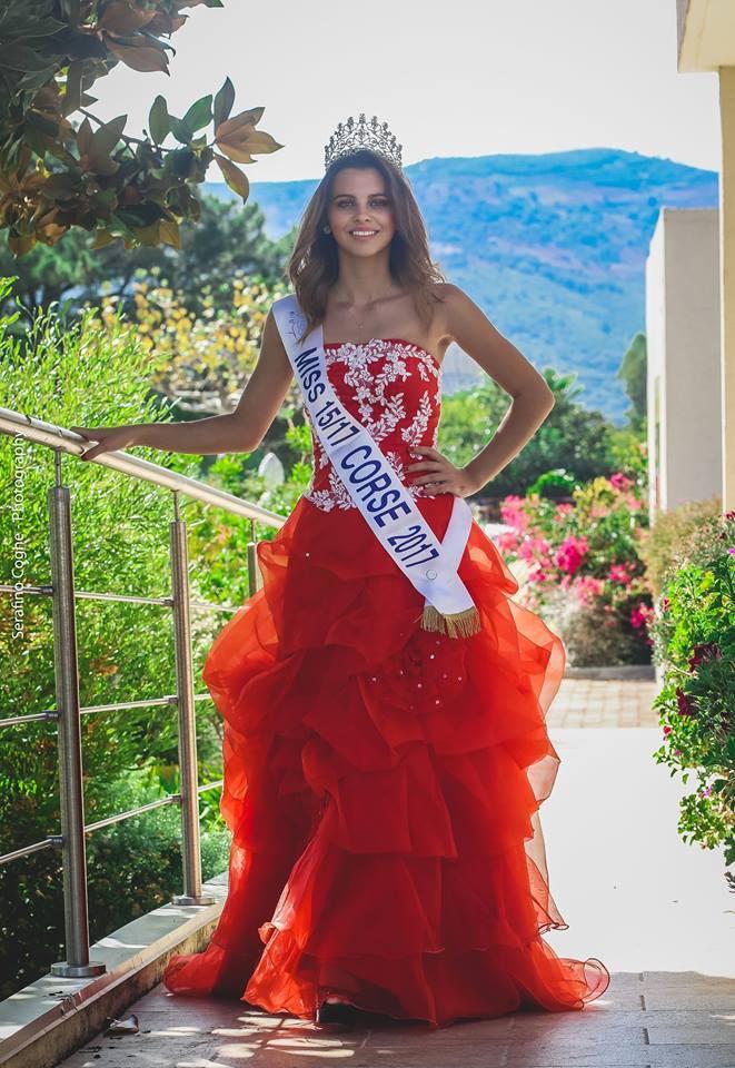 Carla Casanova, Miss Corse 15/17 2017
