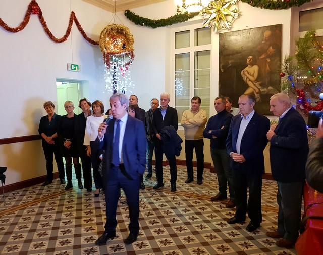 Echange de vœux à l'Hôtel de Ville de Calvi