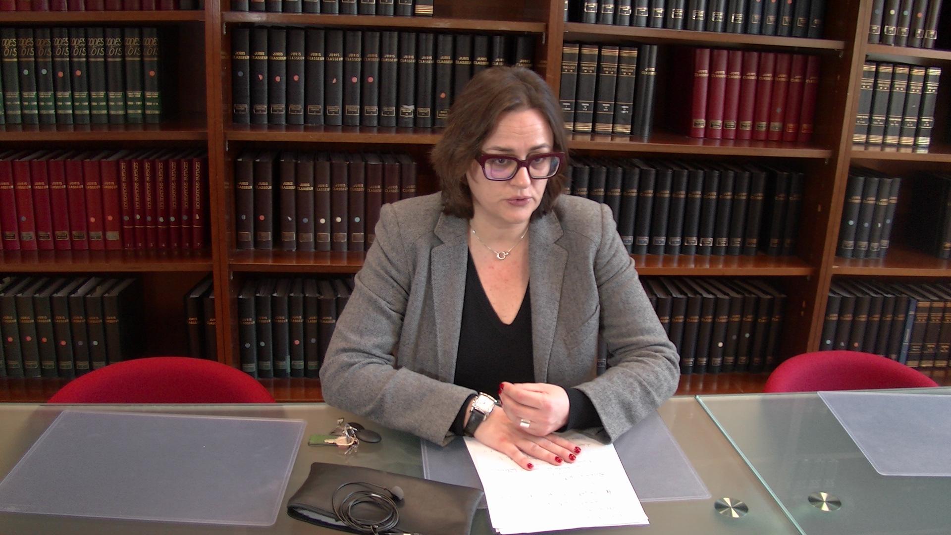 Caroline Tharot, procureure de la République de Bastia