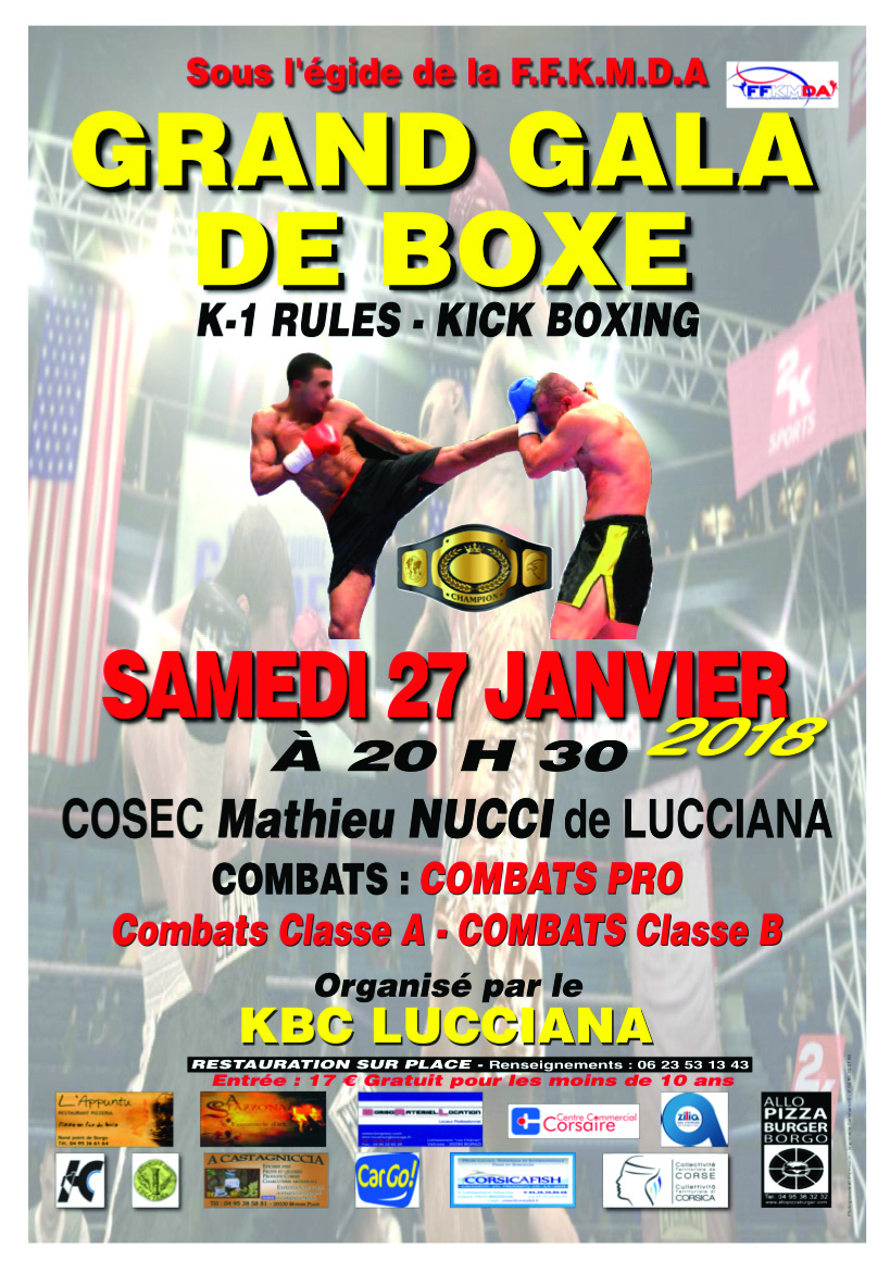 Samedi, le grand gala annuel du KBC Lucciana