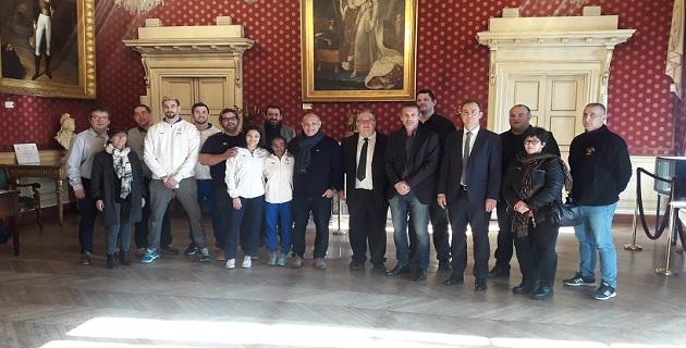 Réception à la Mairie d'Ajaccio
