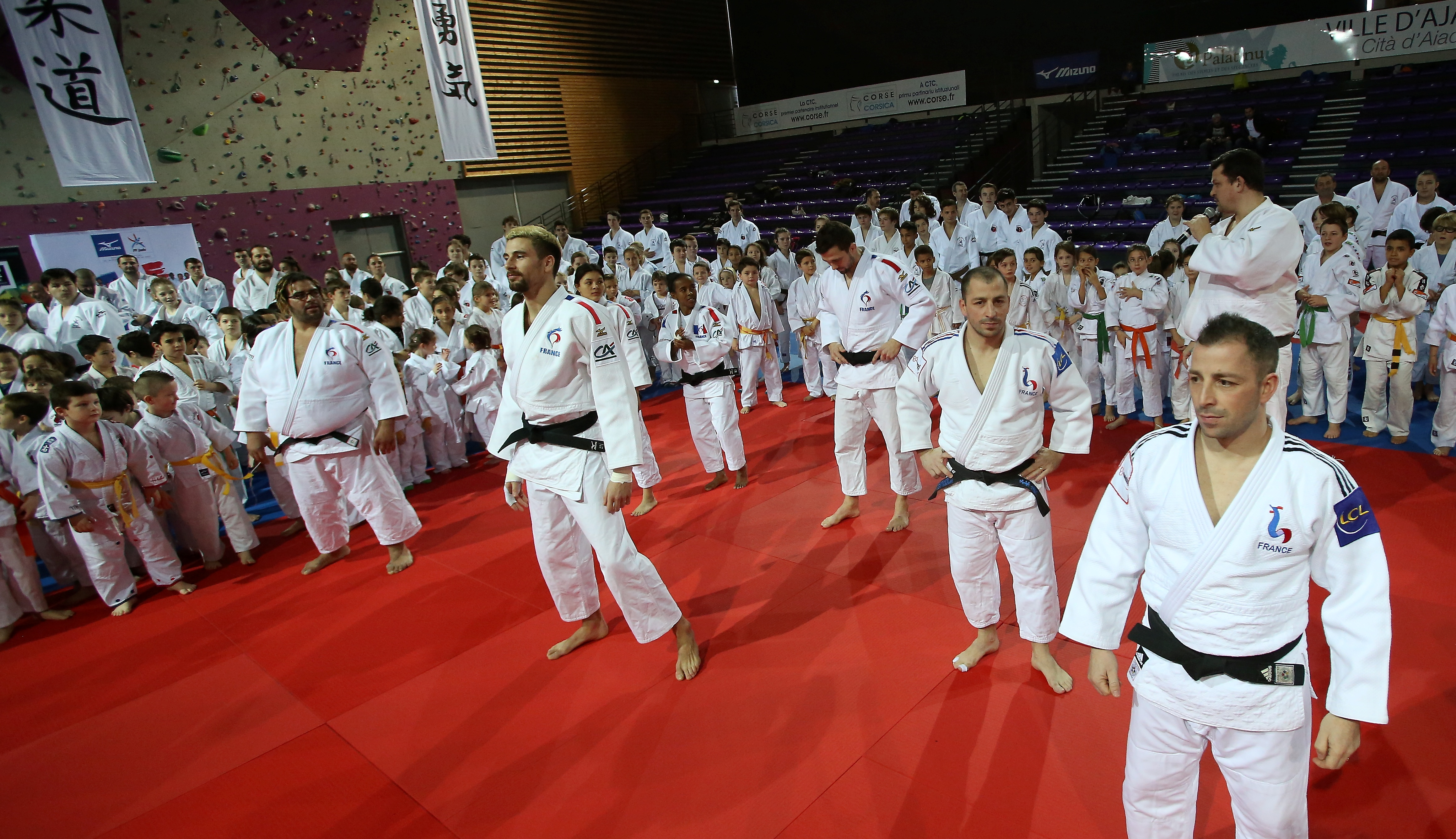 La grande fête du judo au Palatinu