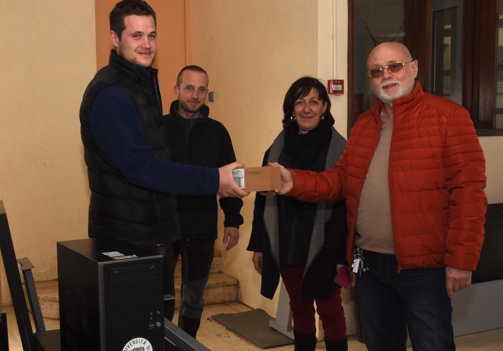 Doni di l'università di Corsica per u cullegiu Pasquale Paoli di Lisula