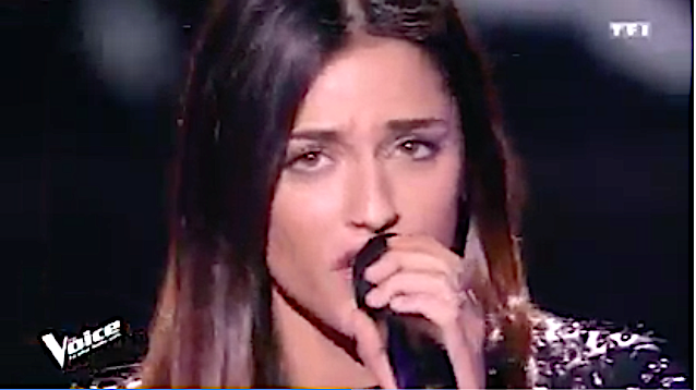 La Corse à The Voice : Cécyle Dellepiani passe…