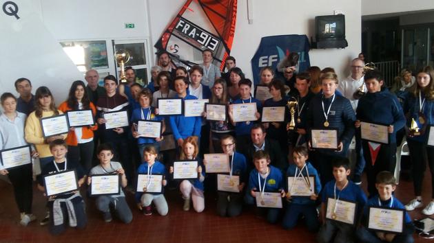 Ajaccio : L'après-midi des champions de la Ligue Corse de Voile