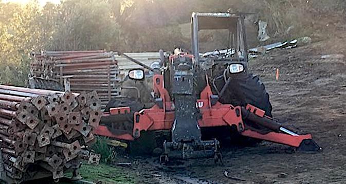 Engins de chantier incendiés à Lisula et Munticellu