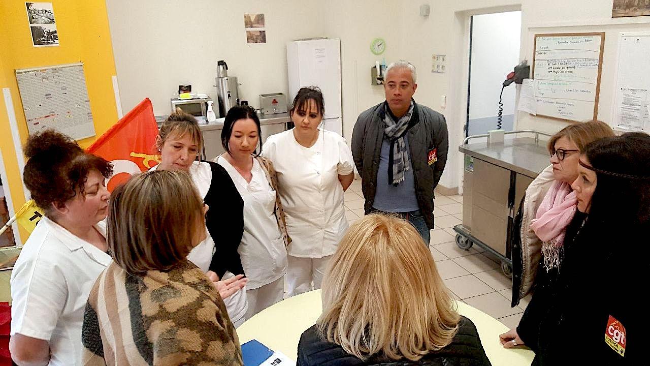 """EHPAD de Bastia :  La CGT dénonce """"son manque d'attractivité en raison de sa vétusté"""""""