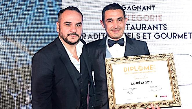 """Consécration parisienne pour le restaurant """"La Gaffe"""" récompensé par François-Xavier Demaison  (Terre de Vins)"""