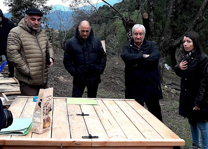 Réduction des biodéchets : Un composteur partagé dans les jardins solidaires d'Argiusta-Moriccio