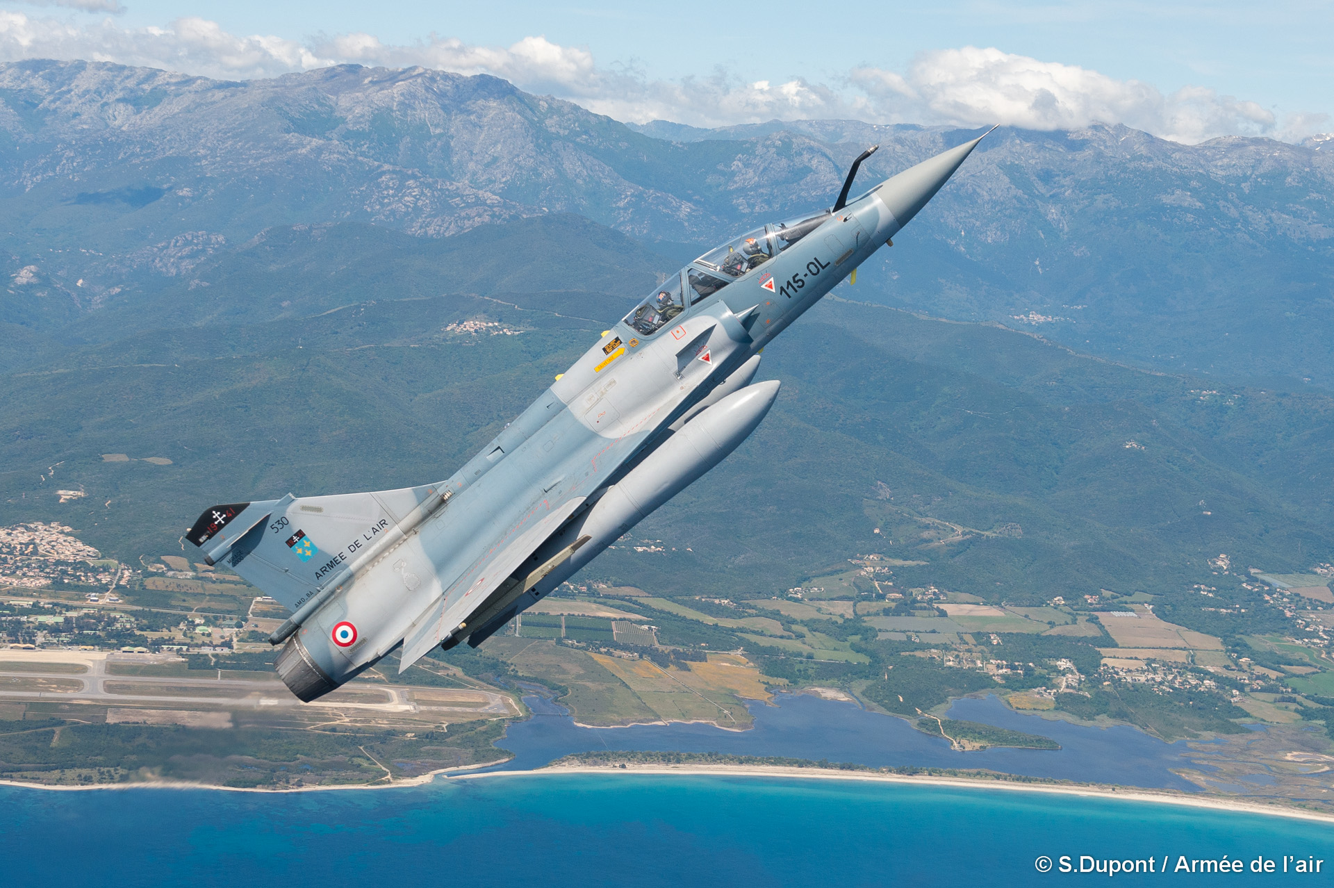 Reprise de l'activité opérationnelle sur la base aérienne 126 de Ventiseri-Solenzara