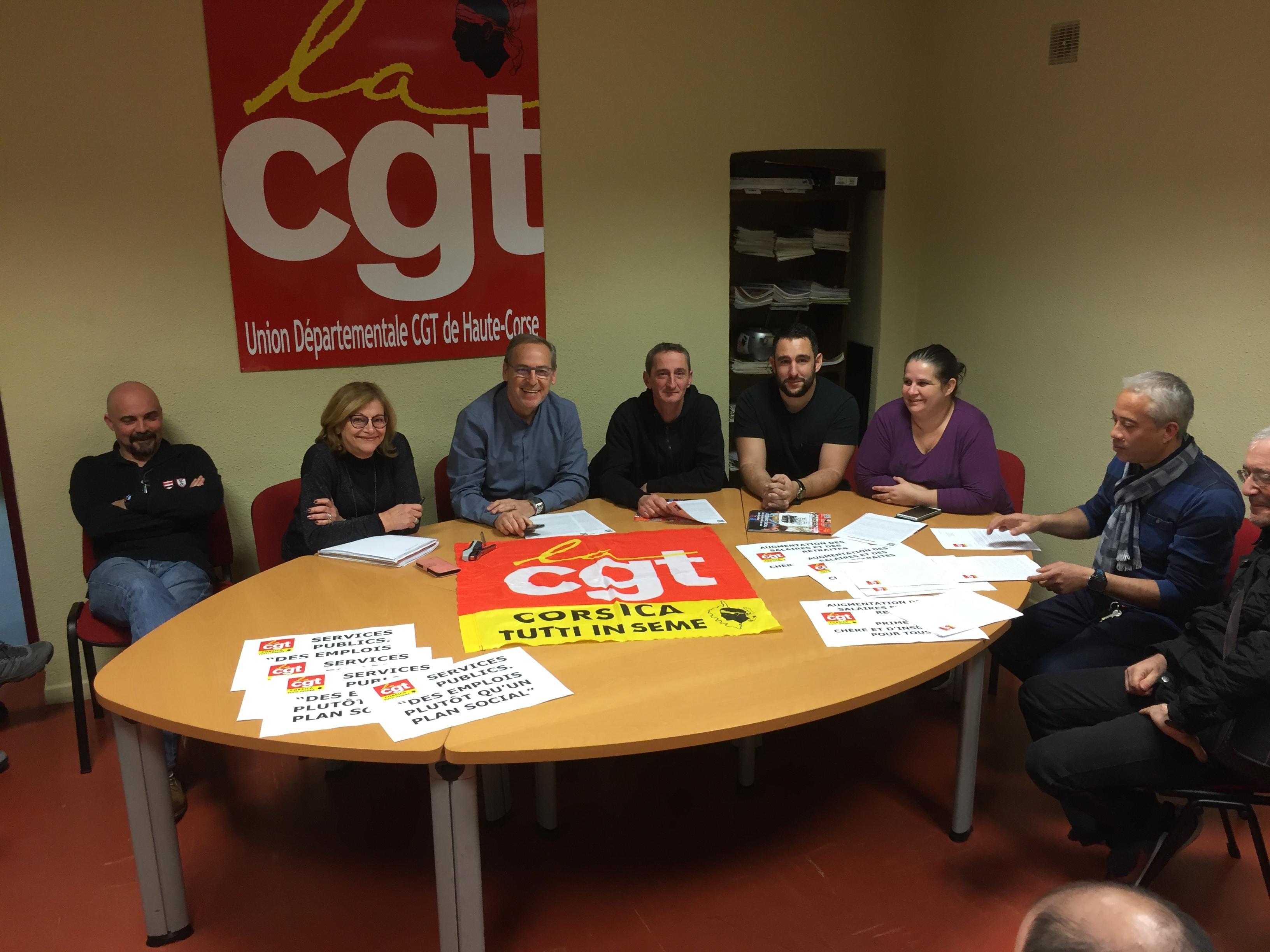 La CGT bien décidée à manifester mercredi à Bastia