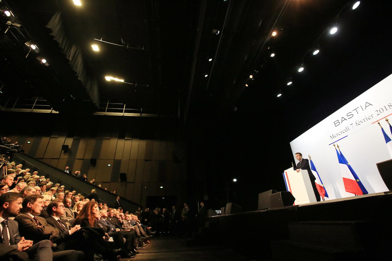 Bastia : Les autres réactions corses au discours d'Emmanuel Macron