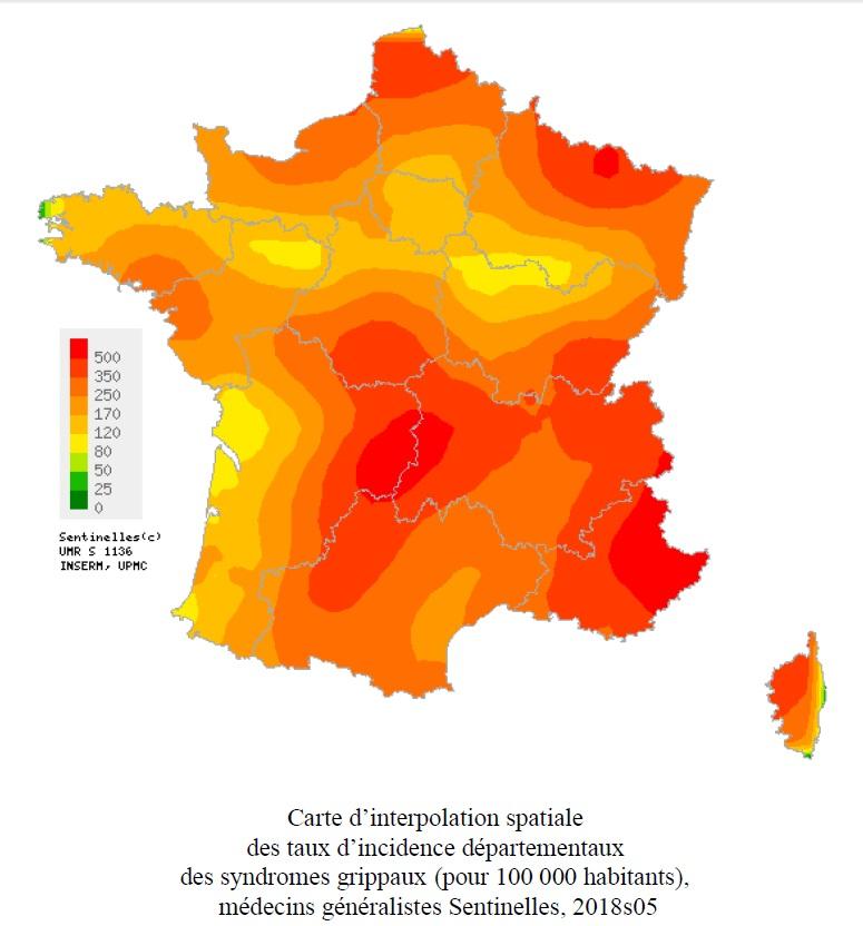Corse: La grippe pointe le bout de son nez ….