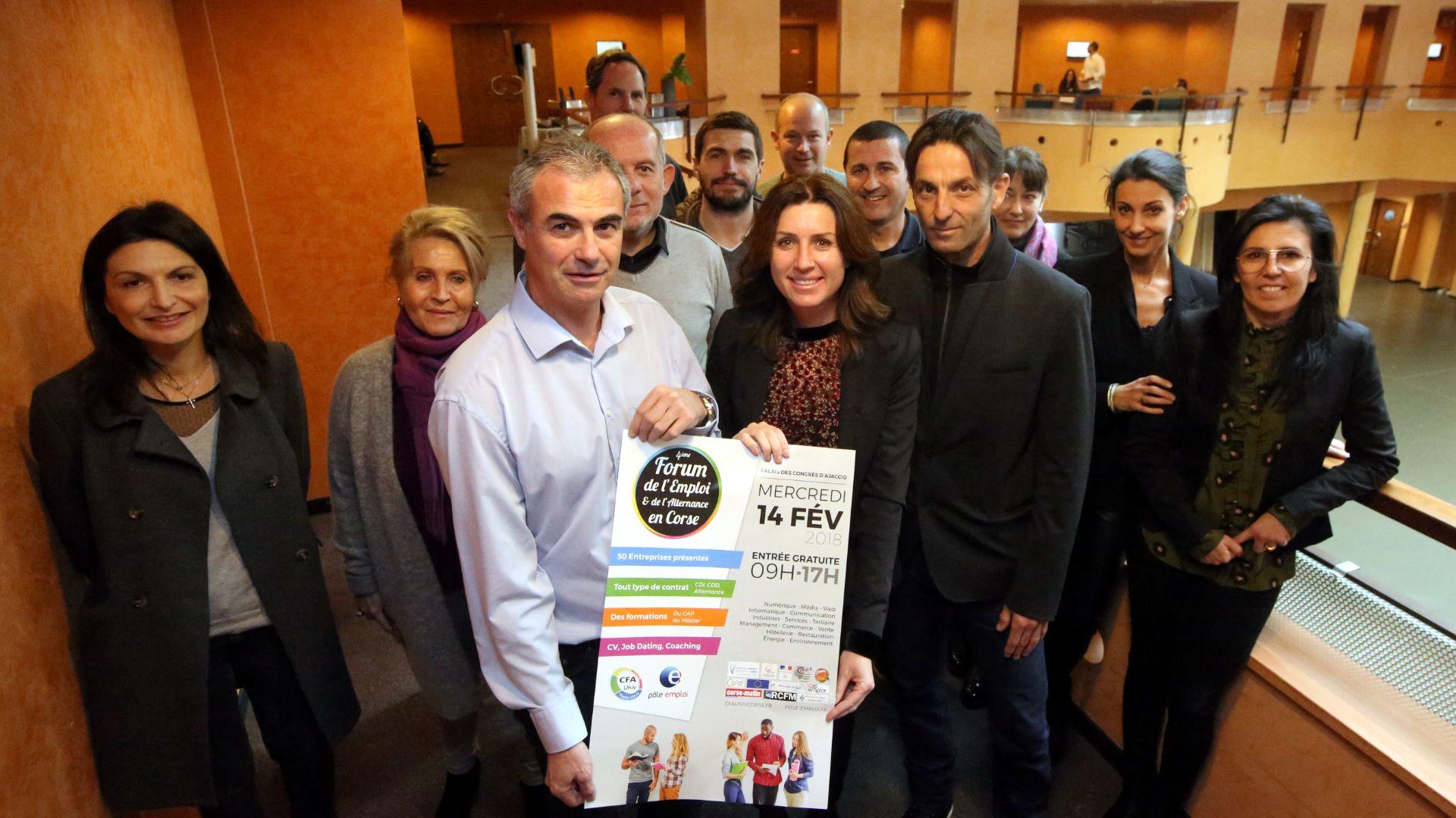 Le Job Forum de l'Emploi et de l'Alternance aura lieu le 14 février à Ajaccio