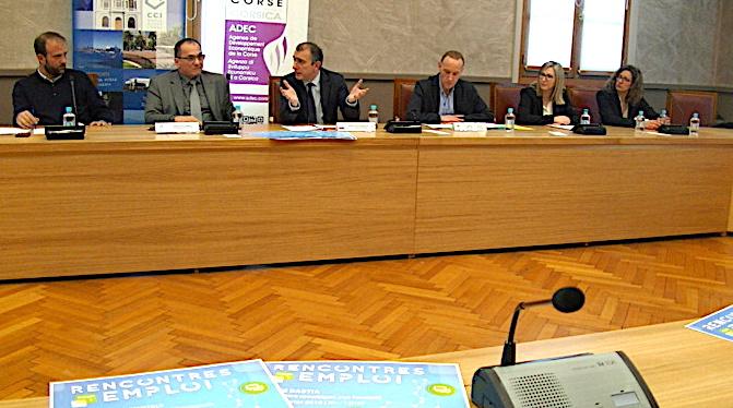 ADEC, CCI2B et Pôle emploi ont présenté les Rencontres Pour l'Emploi 2018