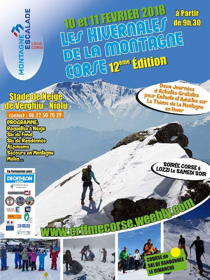 Les hivernales de la montagne ce week-end à Vergio