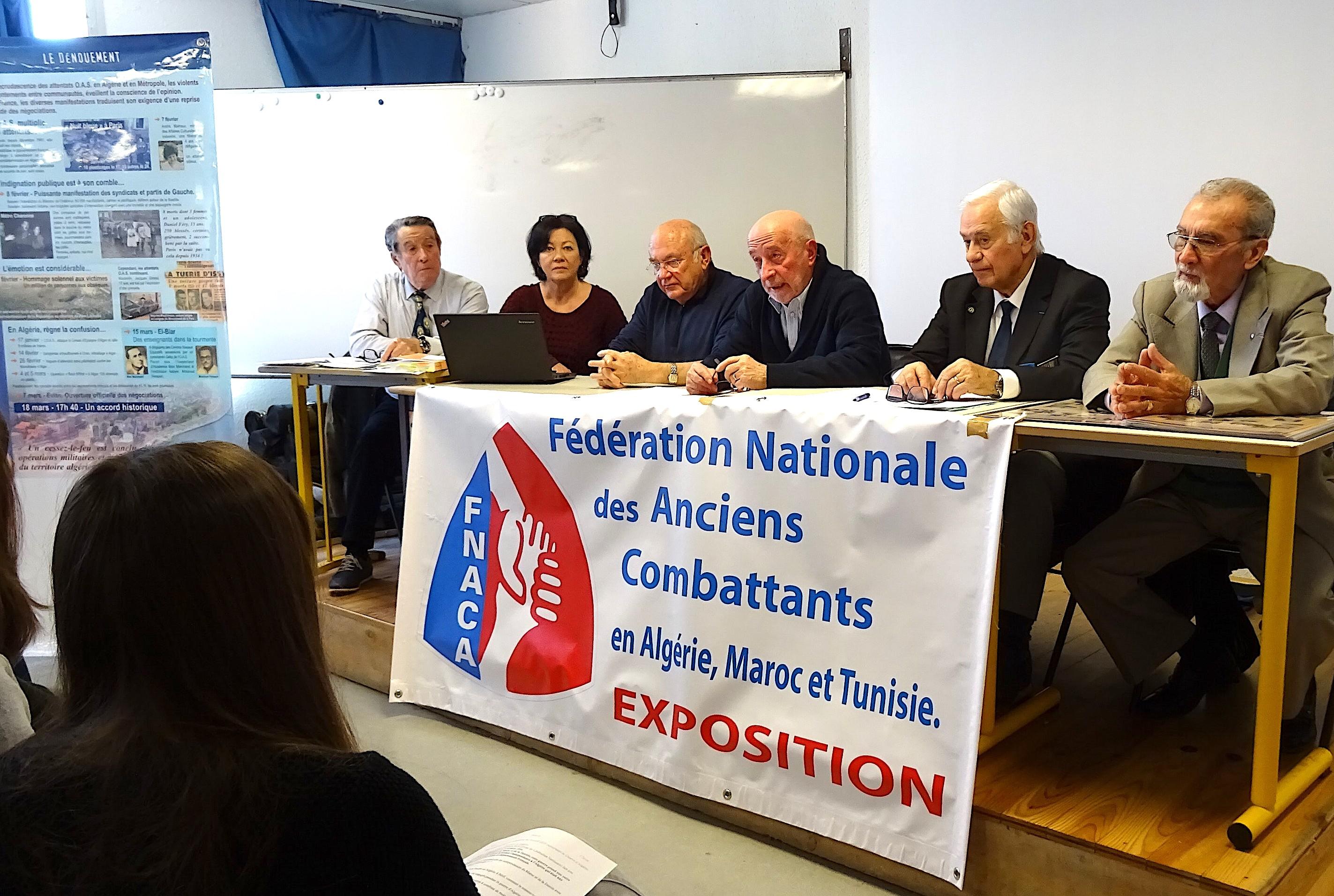 Gilbert Joncheray, Patricia Mariani, Robert Kran, Jean Raffi, Antoine Vincensini, Claude Pianne