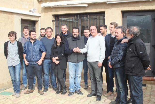 Les nouveaux locaux de Télé Paese inaugurés à Monticellu
