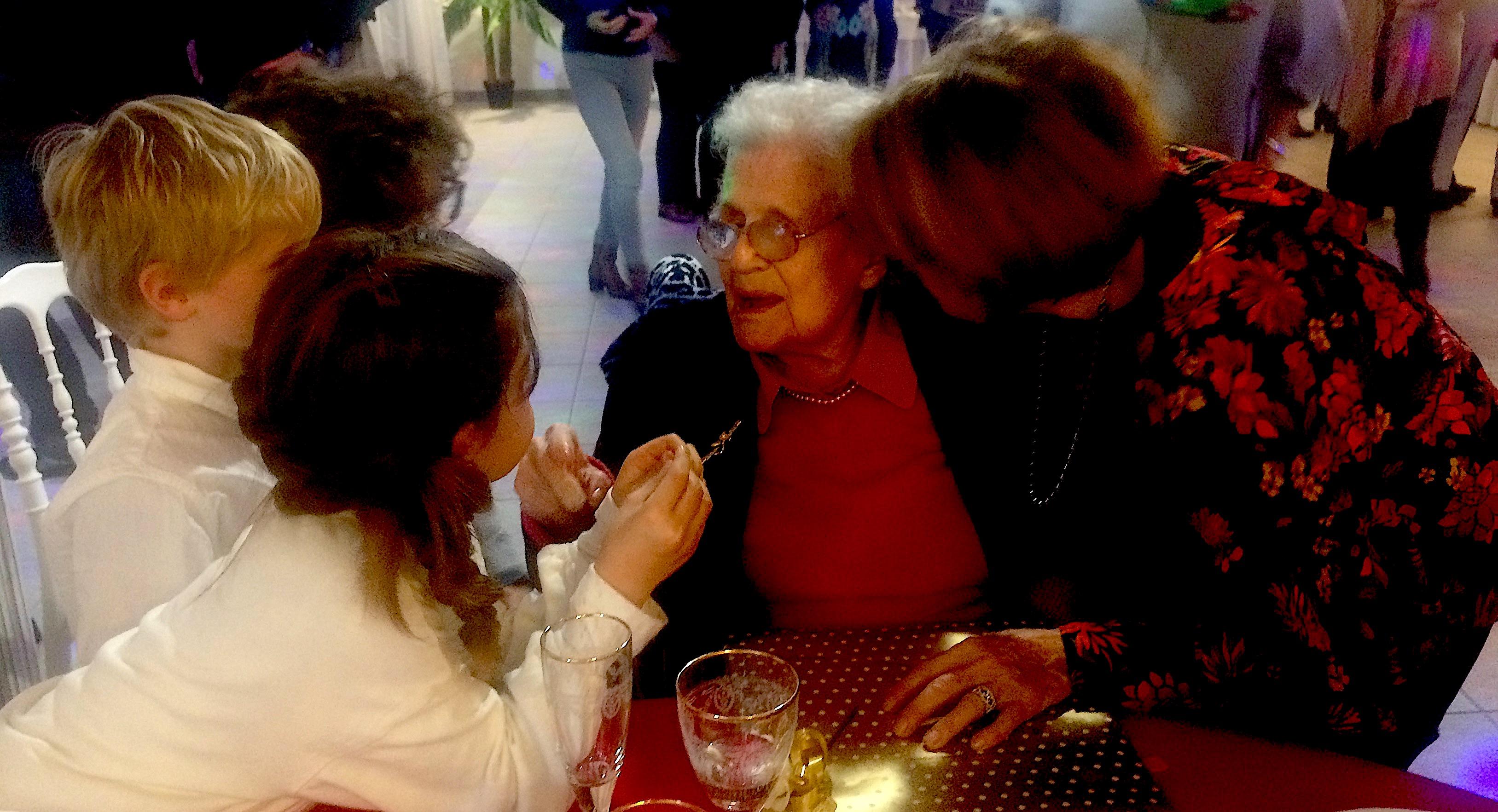 Marie Ferracci vient de fêter ses 110 ans à Rennu : Merci Madame l'institutrice