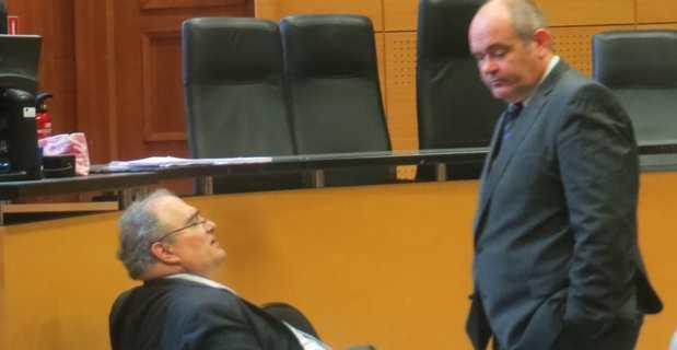 L'ex-député et président du Conseil départemental, Paul Giacobbi, et son ex-Directeur général des services, Thierry Gamba-Martini.