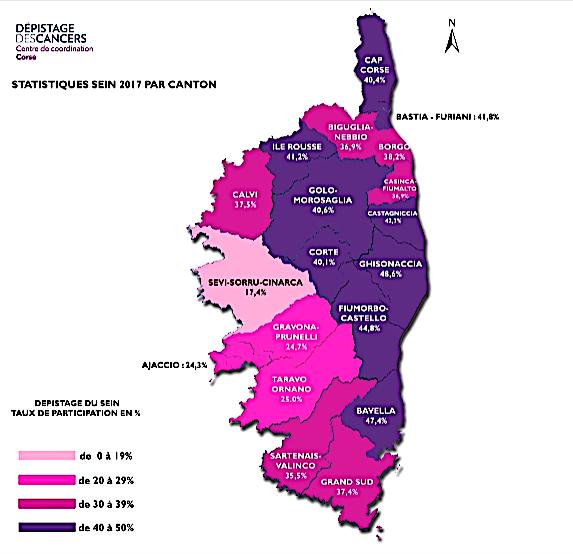 Cancer : Le taux de participation au dépistage en baisse en Corse