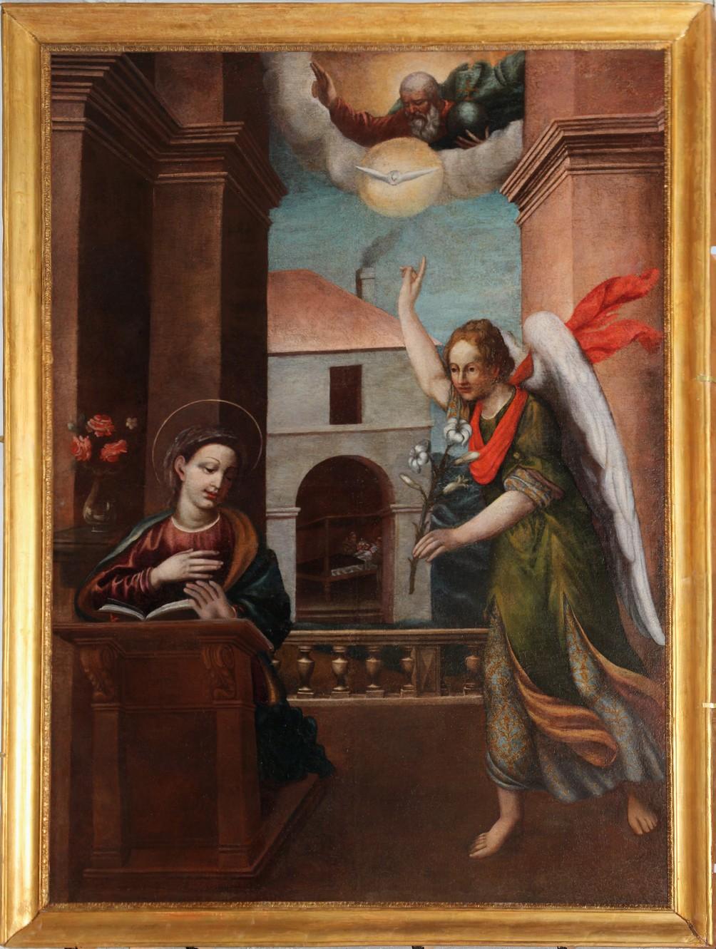 Bastia : L'énigme de «L'annonciation», une toile du 17ème siècle,  élucidée