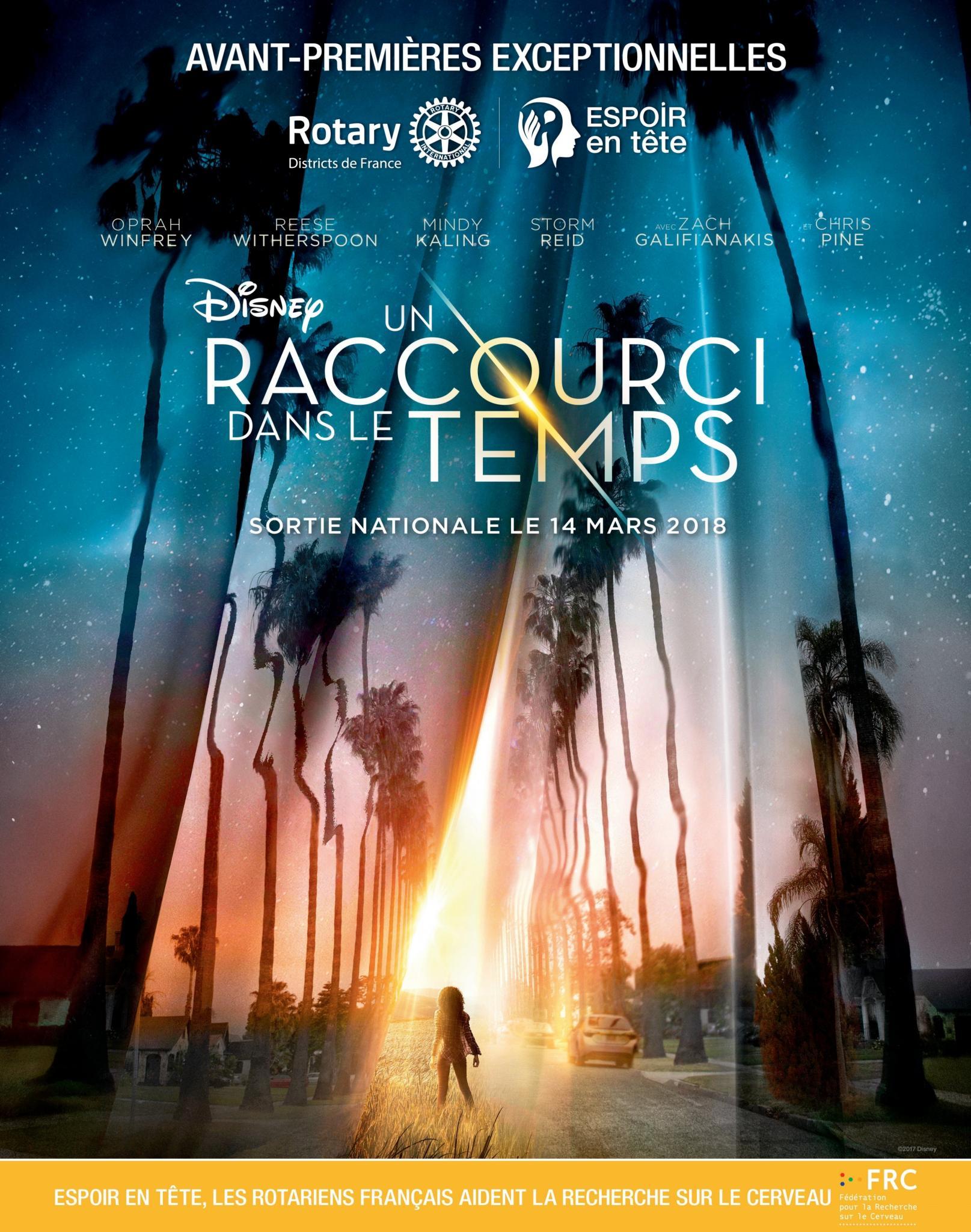 """Rotary : Projection en avant-première à L'Ile-Rousse du film """"Un raccourci dans le temps"""""""