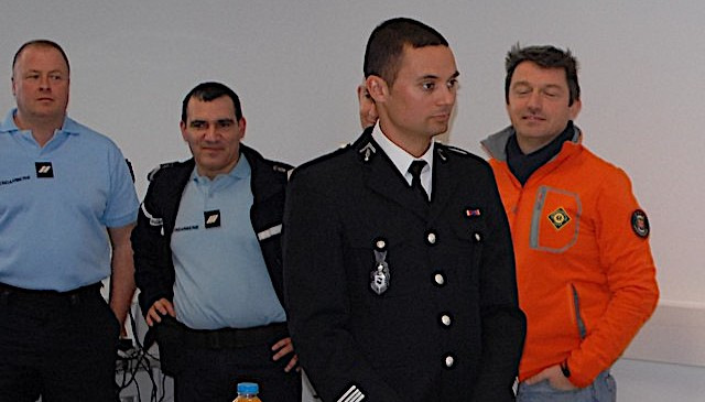 Inspection, visite de nouveaux locaux et bilan de l'année écoulée à la gendarmerie Calvi-Balagne