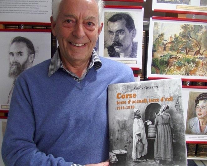 Simon Giuseppi, hôte de la bibilothèque patrimoniale de Bastia