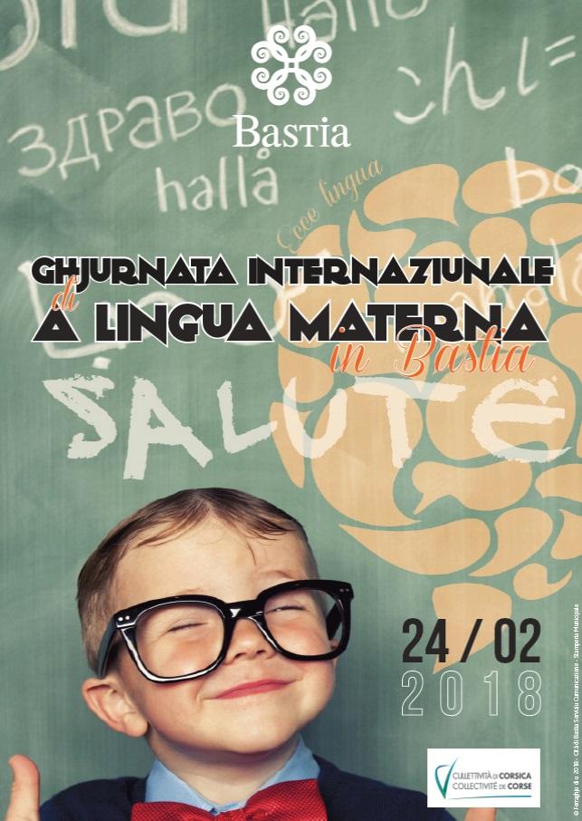 Bastia : Ghjurnata internaziunale A lingua materna, sabbatu u 24 di ferraghju