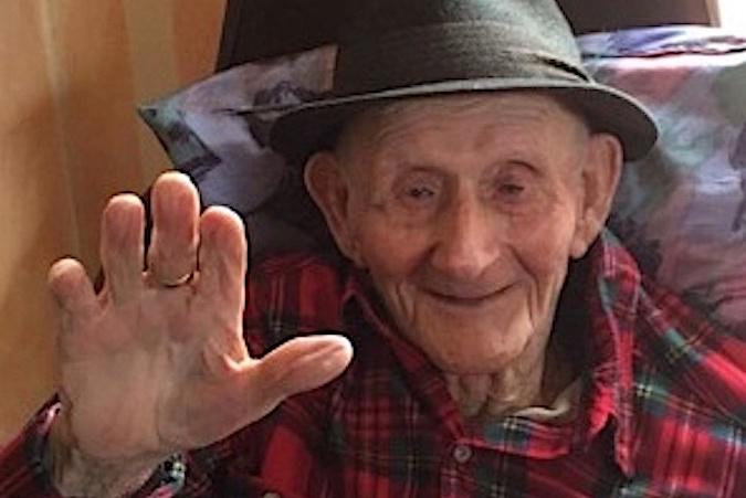 Le doyen de Zilia, Francescu Santelli nous a quittés dans sa 105e année