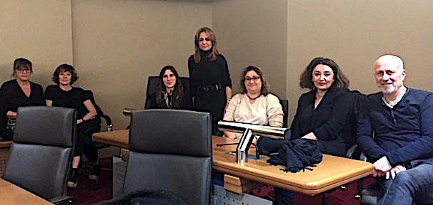 Capa :  Le Projet social présenté par Caroline Corticchiato
