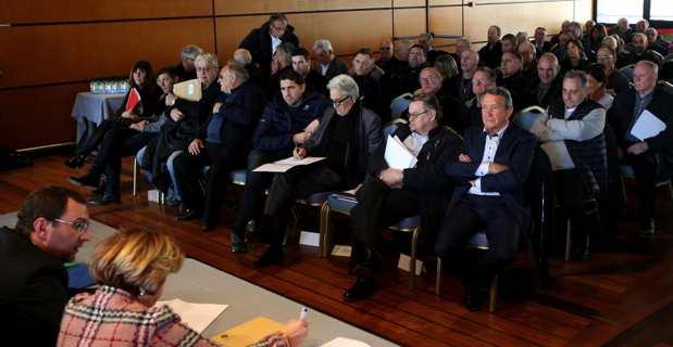 Les maires de Corse du Sud appelés à voter. Crédit photo MJT.