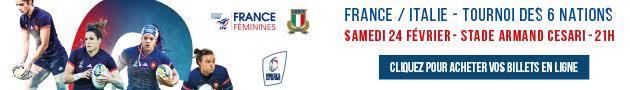 France-Italie : Le Rugby international féminin au stade de Furiani
