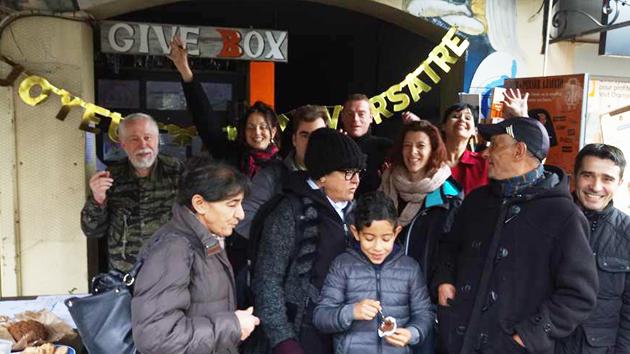 Givebox d'Ajaccio : Deux ans de bons et beaux services