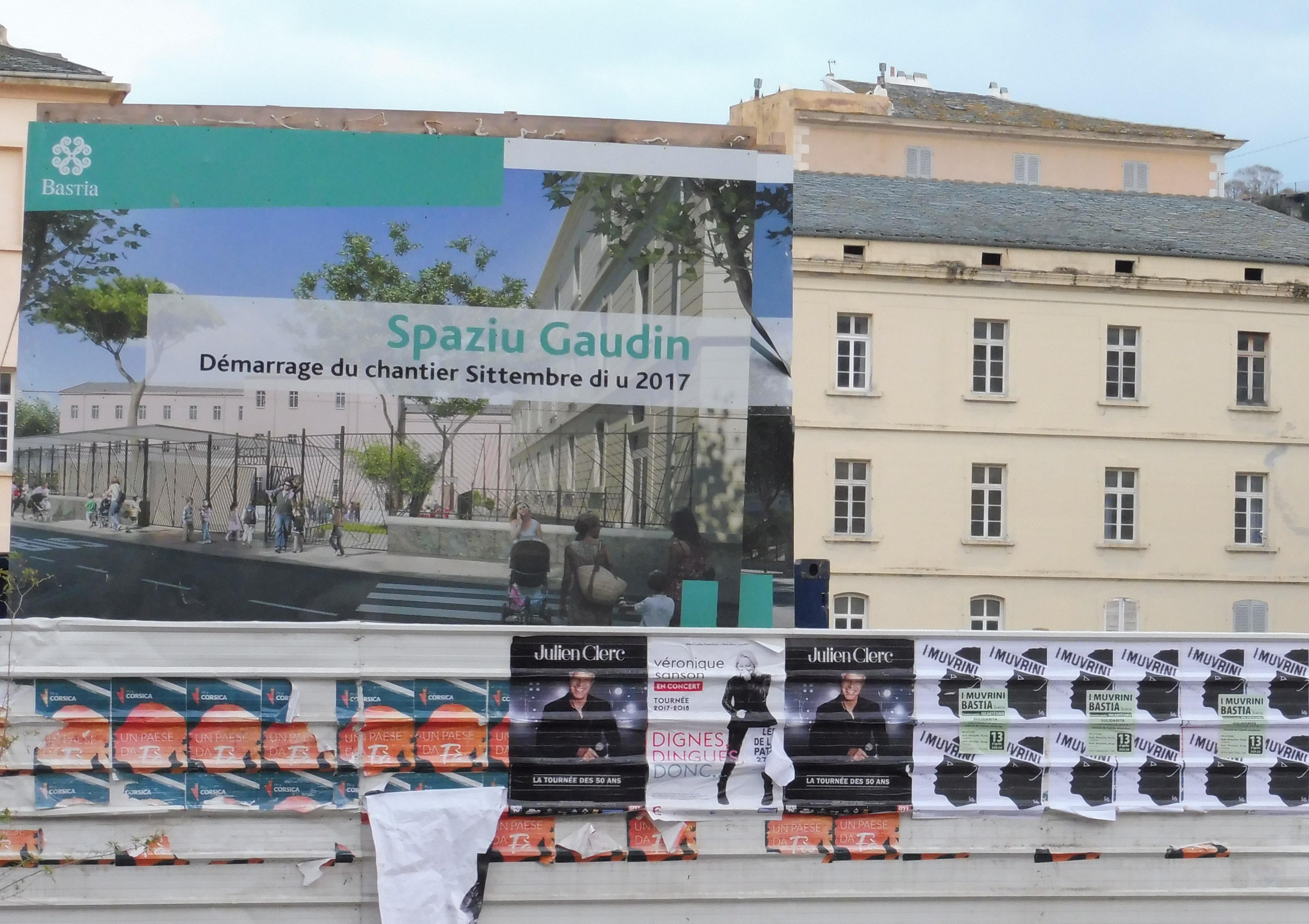 Rénovation du centre ancien de Bastia : Les travaux (et les réflexions) avancent