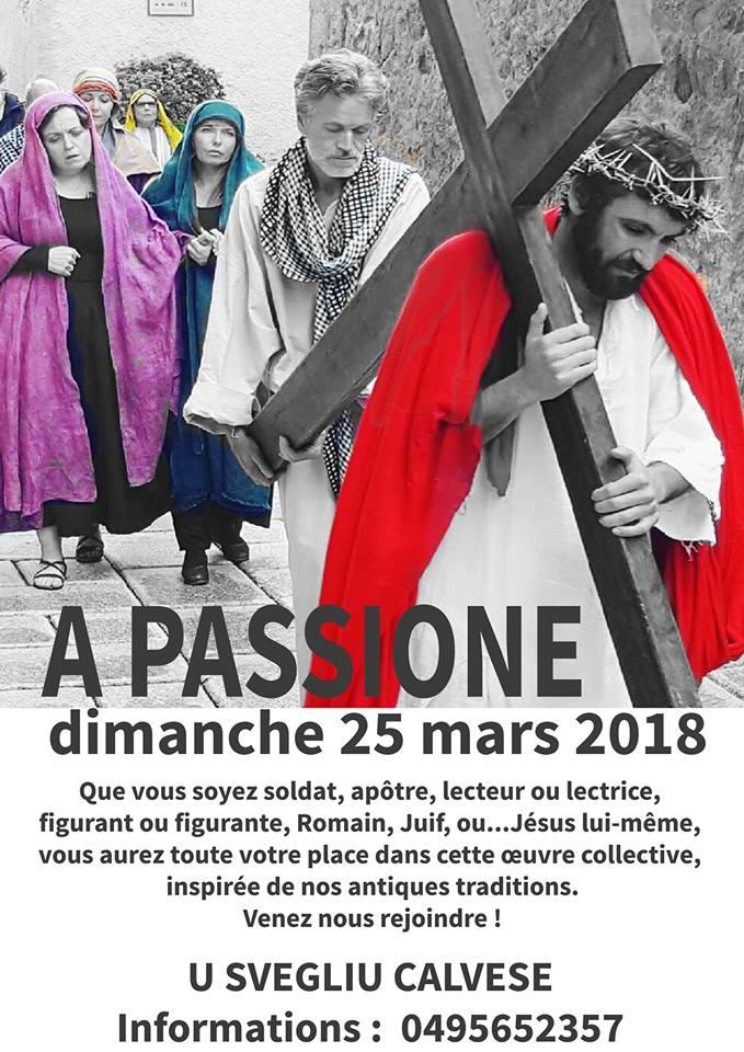 """""""A passione di u nostru Signore"""" le 25 mars à Calvi"""