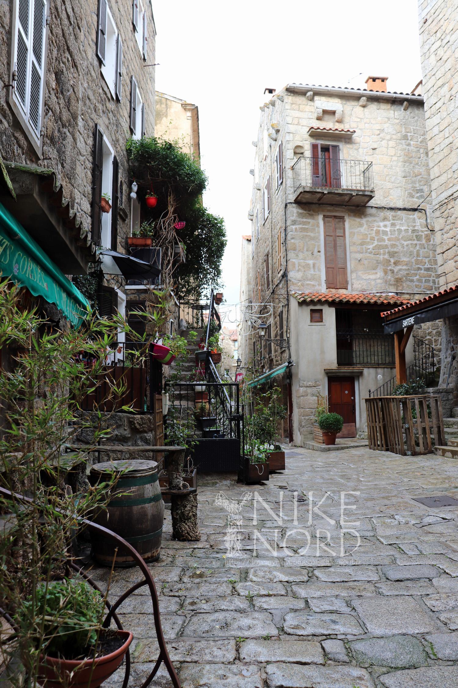 La photo du jour : Rue des frères Bartoli à Sartè